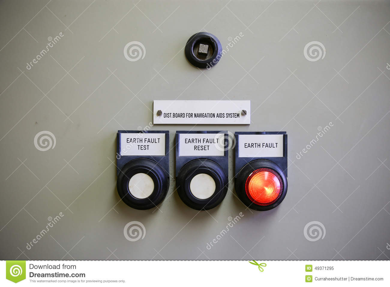 Close Up Of An Electric Meter,Electric Utility Meters For An ...