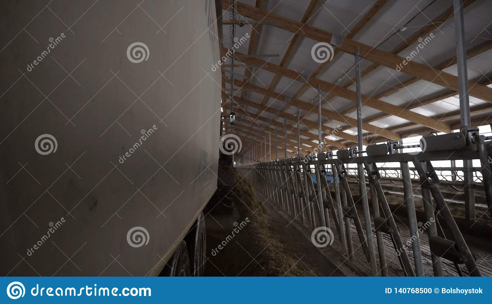 Factory building livestock Machines