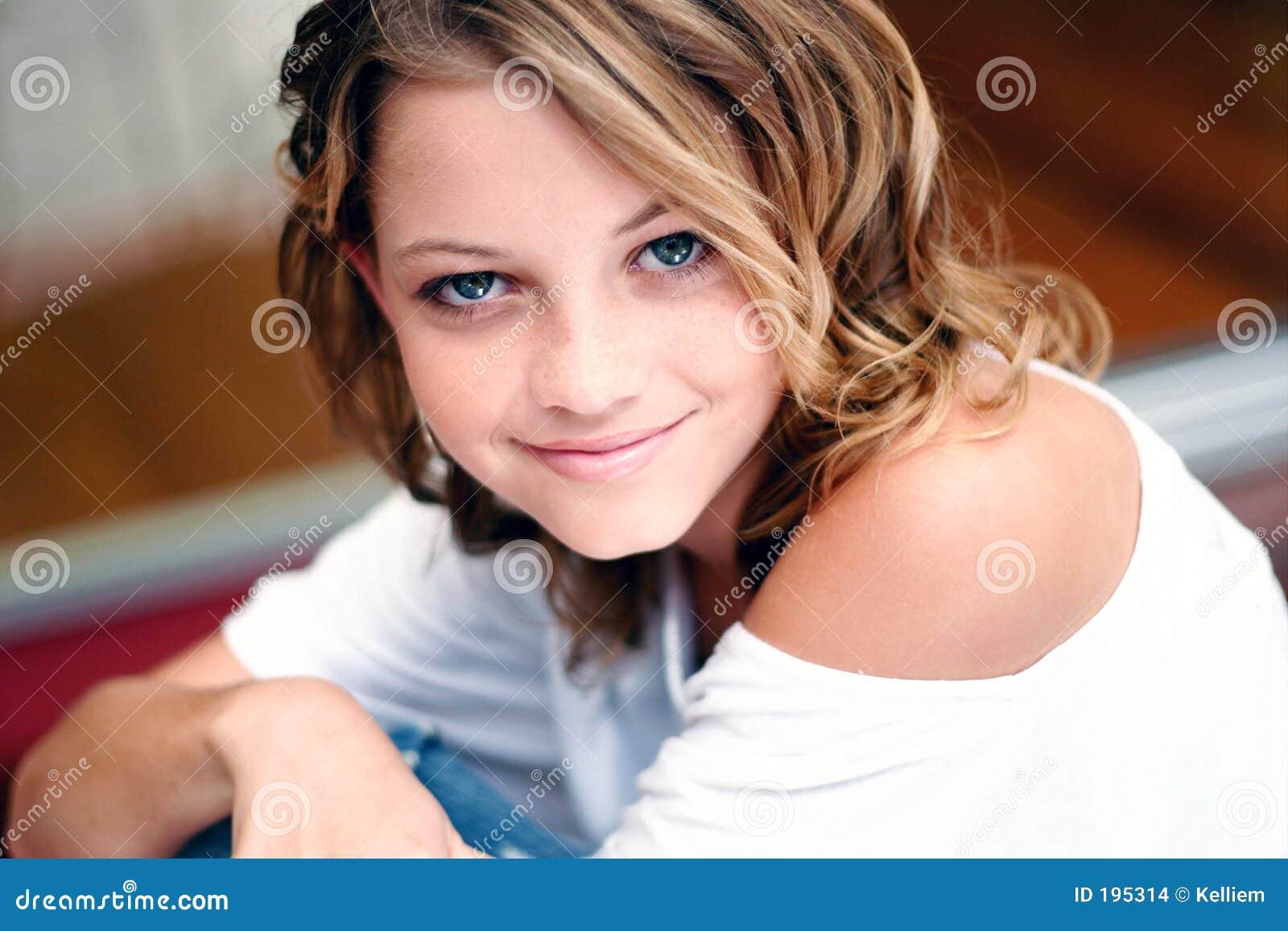 Close up female model