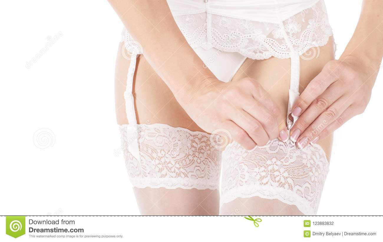 Stockings and garter belt only opinion you