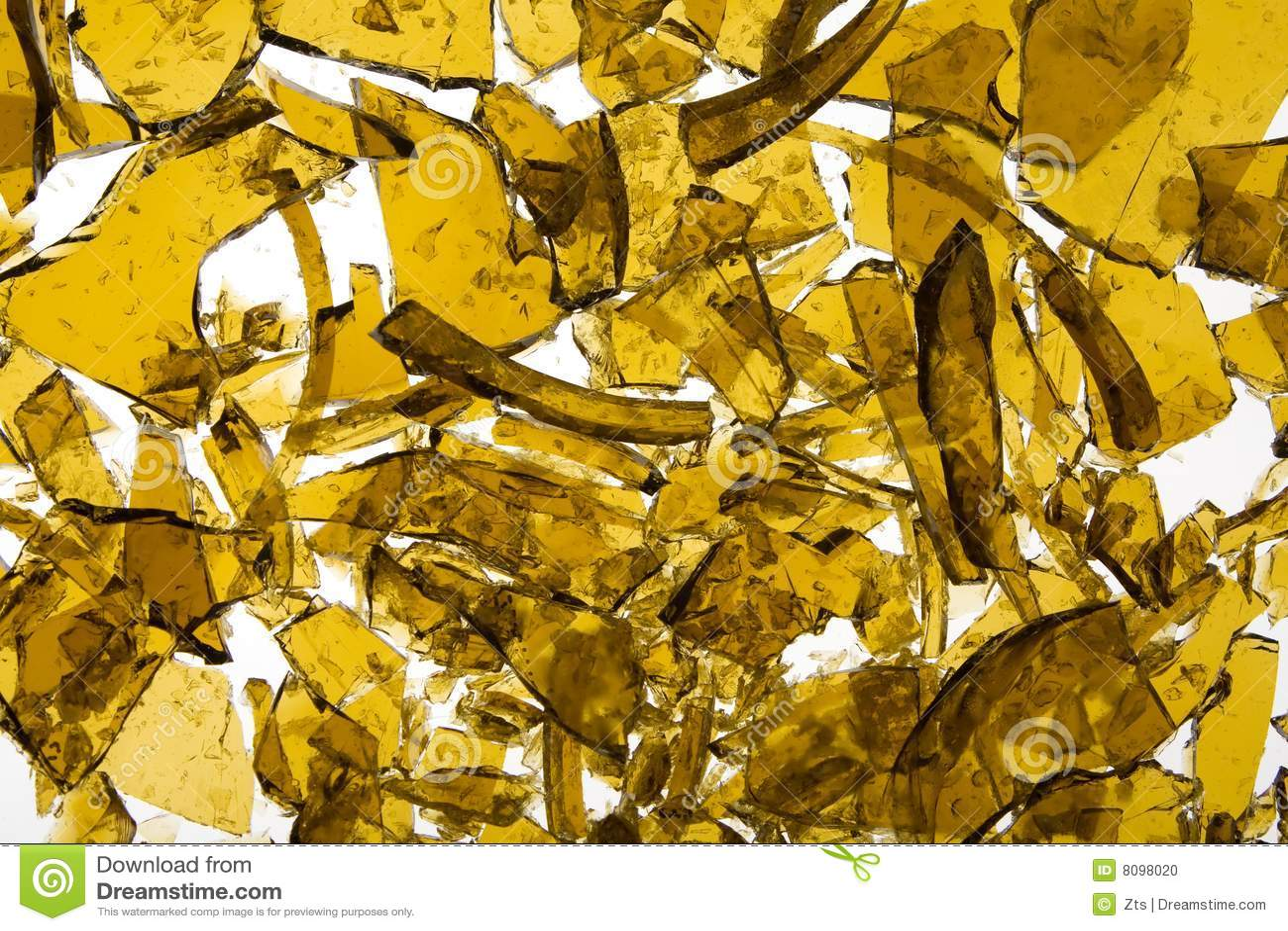 Close Up Broken Yellow Floo Royalty Free Stock Photo
