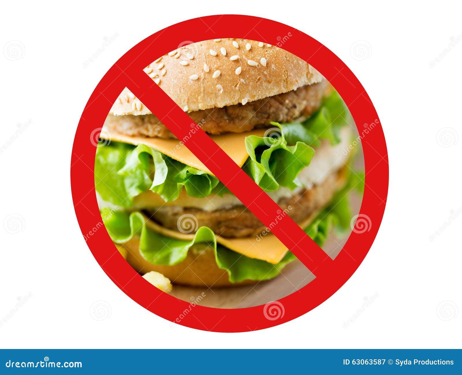 Close Up Of Hamburger Behind No Symbol Stock Image Image