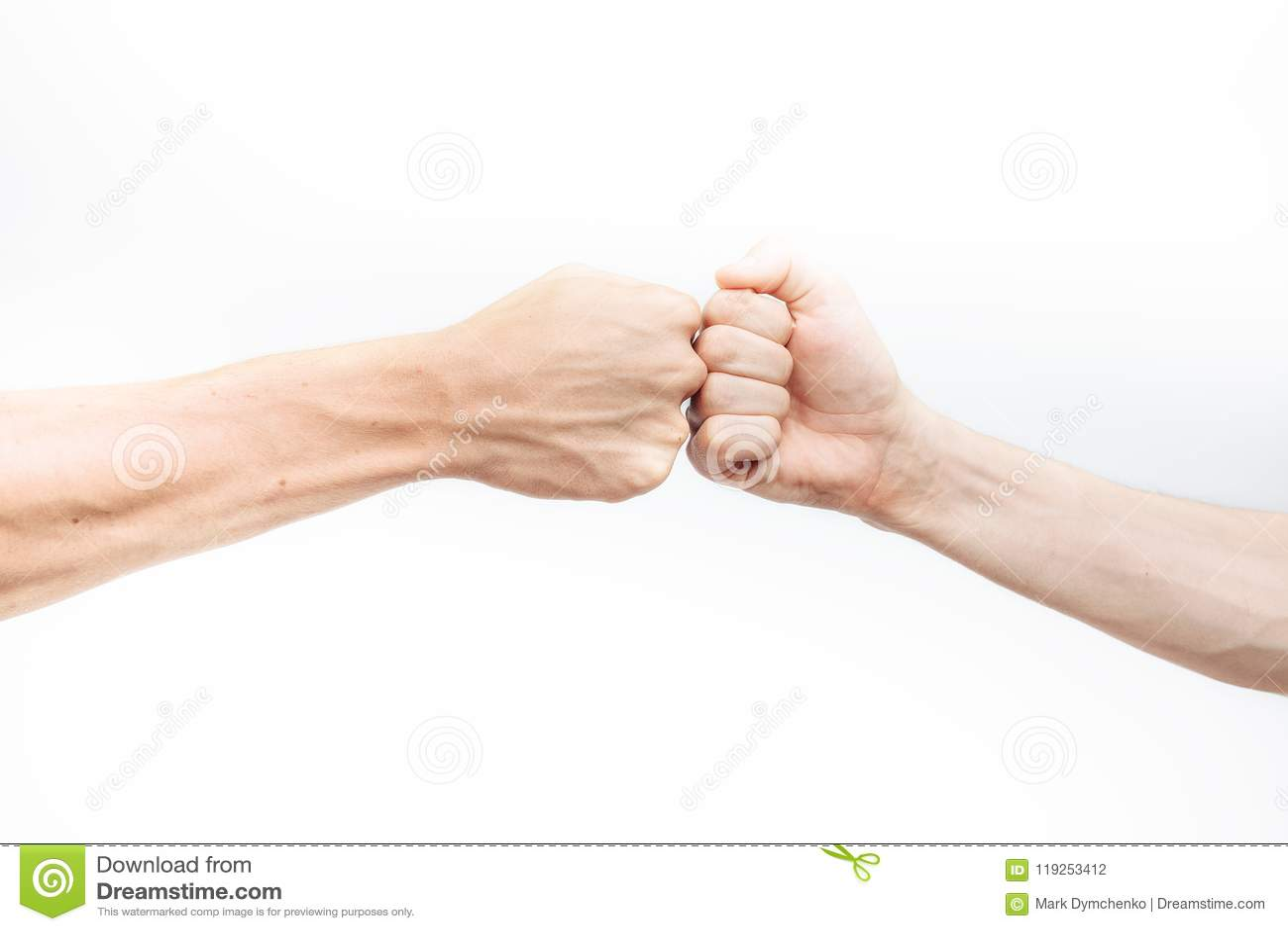 a fist Makes