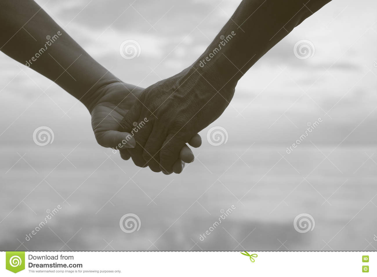 Black couples holding hands