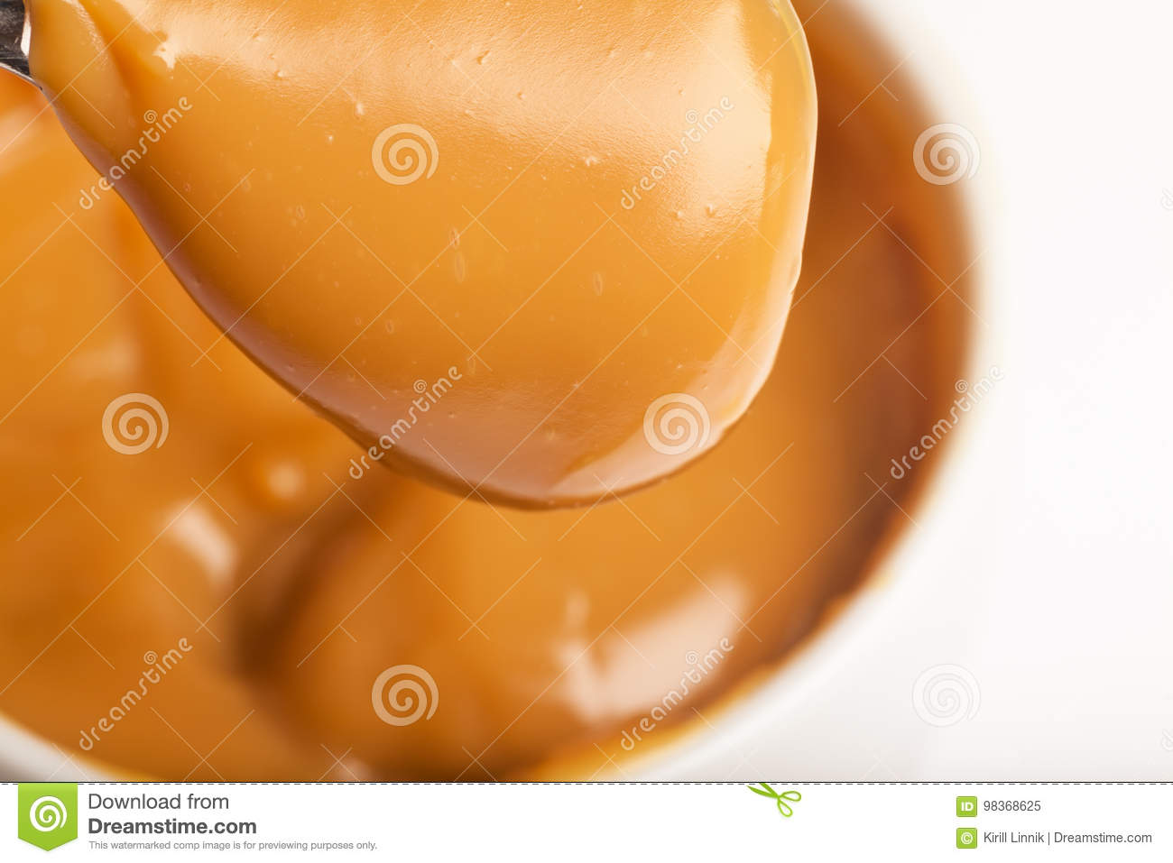 Download Close-up Of A Handmade Toffee Stock Image - Image of cuisine, delicious: 98368625