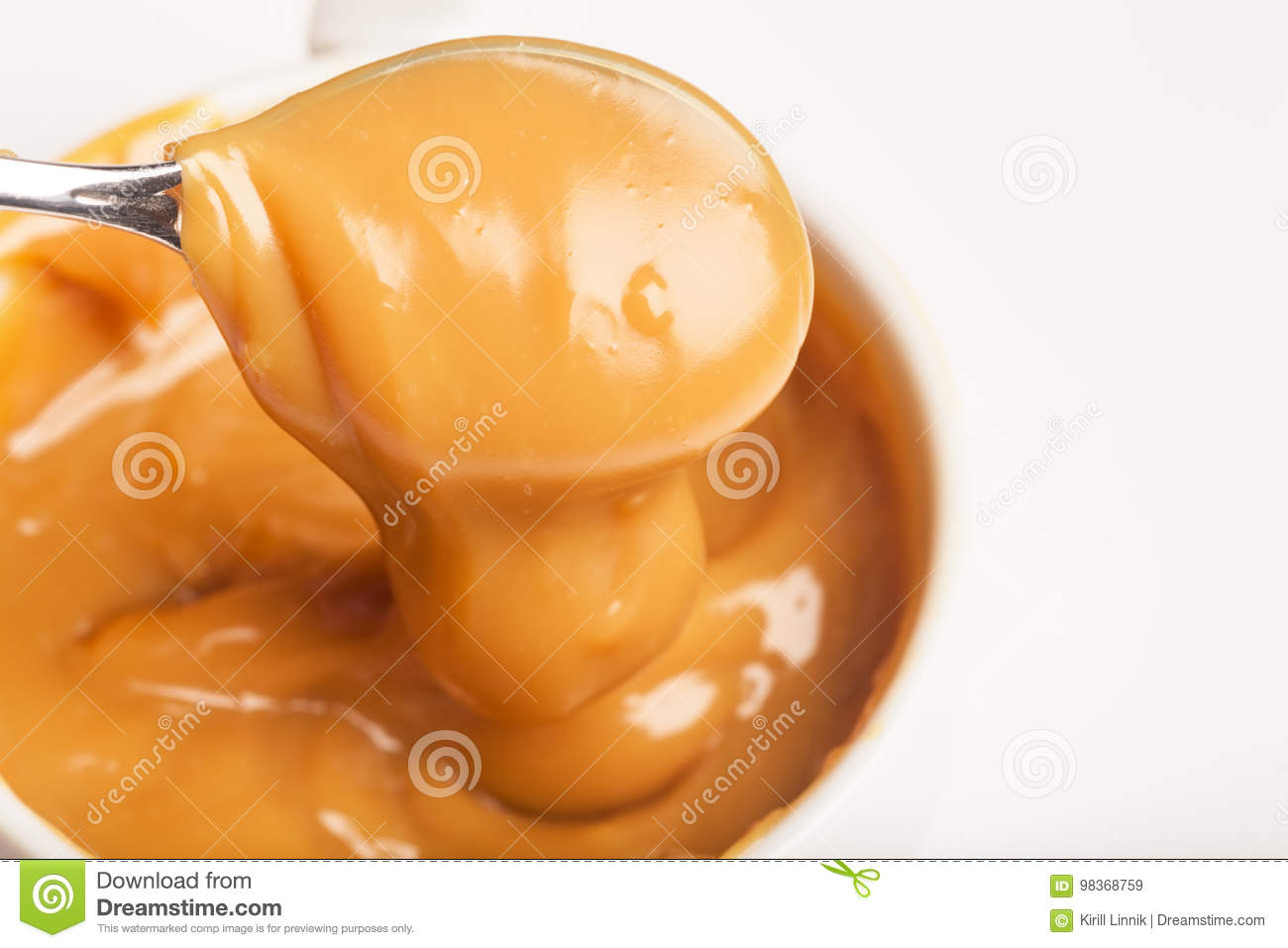 Download Close-up Of A Handmade Toffee Stock Image - Image of homemade, liquid: 98368759