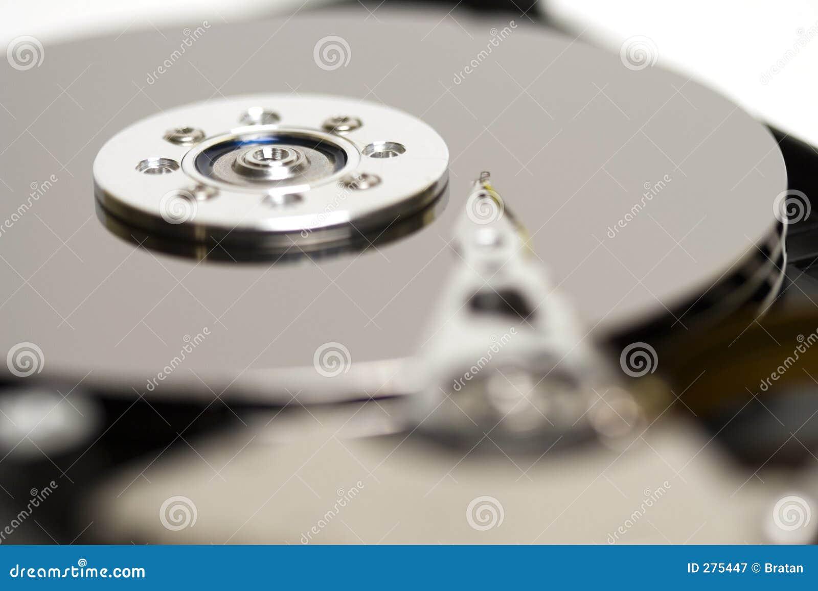 Close-up HDD