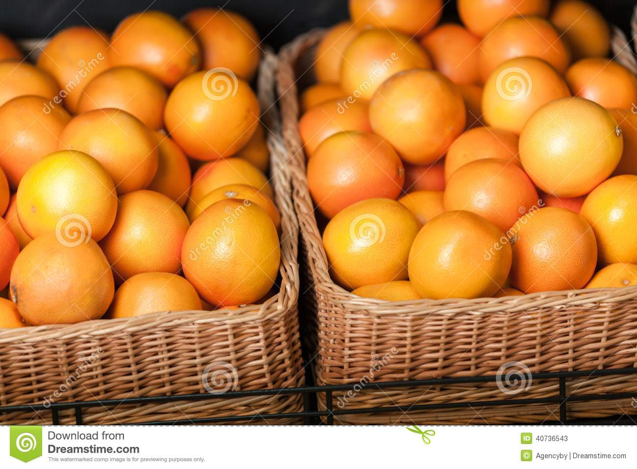 Close up of heap of oranges