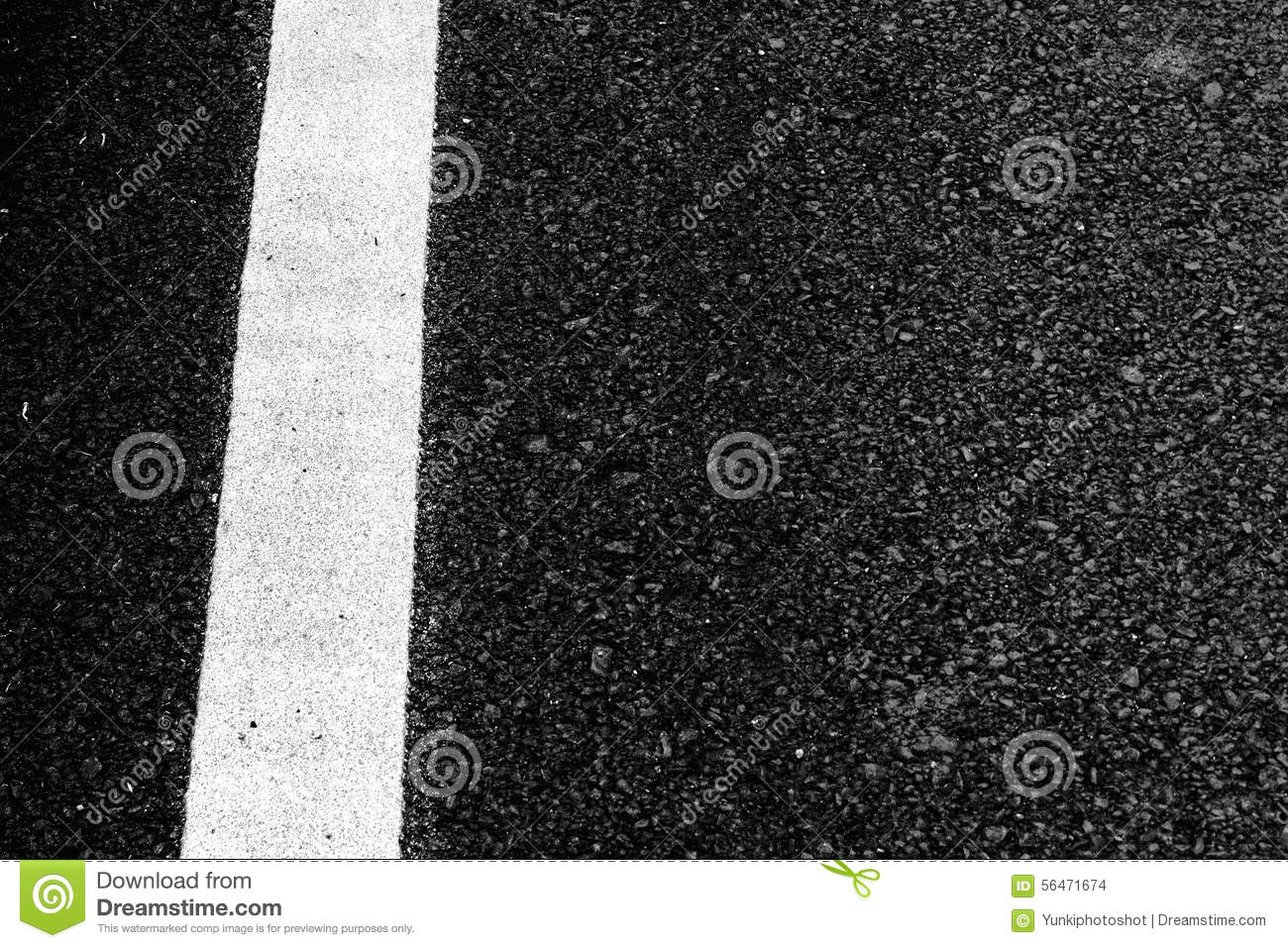 Close-up Horizontal View Of Asphalt Texture Road ...