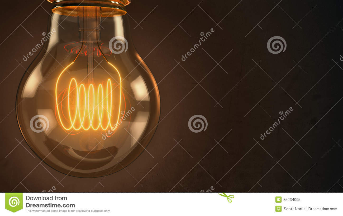 Close up of an illuminated vintage hanging light bulb over dark & Close Up Of An Illuminated Vintage Hanging Light Bulb Over Dark ... azcodes.com