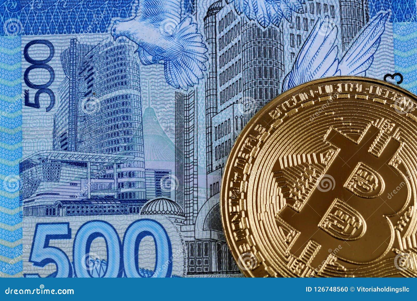 bitcoin to tenge