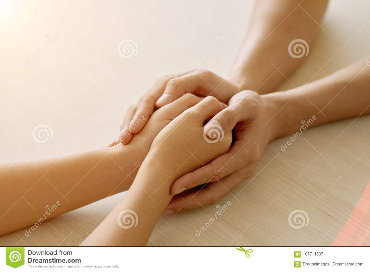 supportive friend stock image image of female hands 107711507