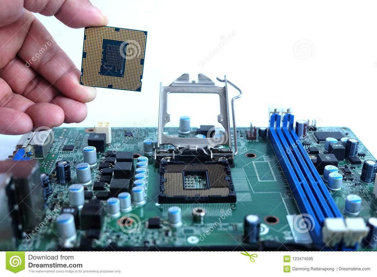 installing new cpu and motherboard