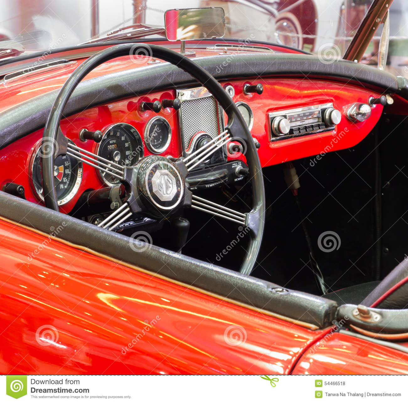 close up of a custom made interior of an oldtimer editorial photo 71962661. Black Bedroom Furniture Sets. Home Design Ideas