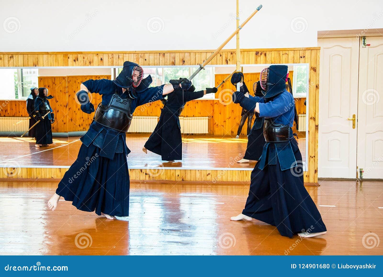 Japanese Martial Art Of Sword Fighting  Sport  Editorial