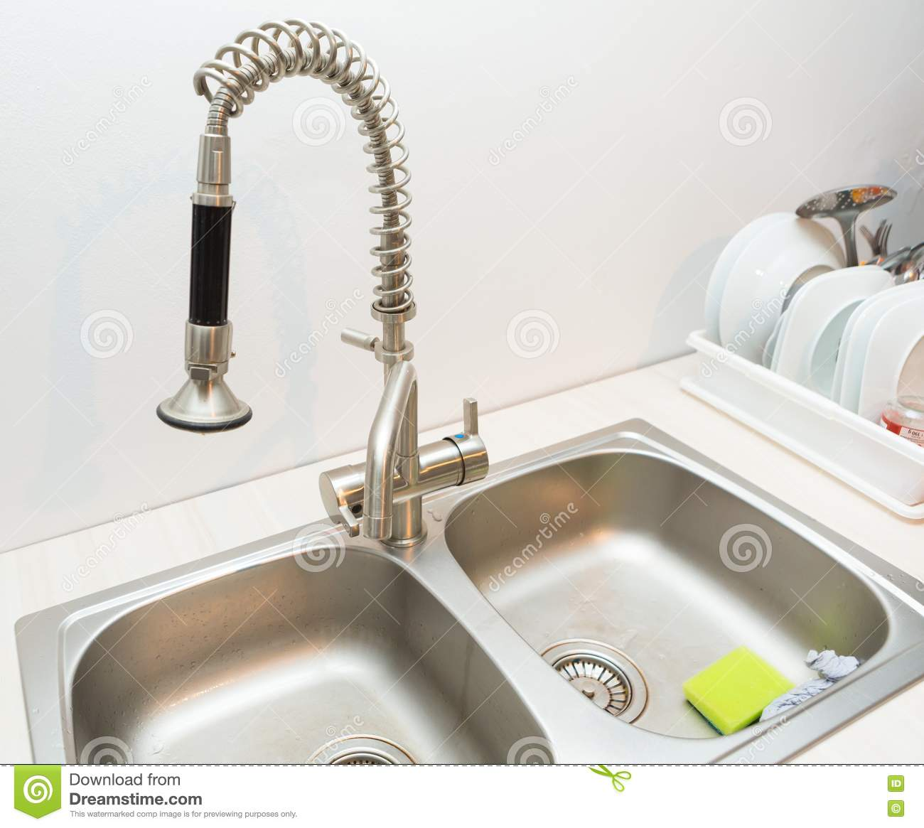Kitchen Sink Faucet Leaking At Top