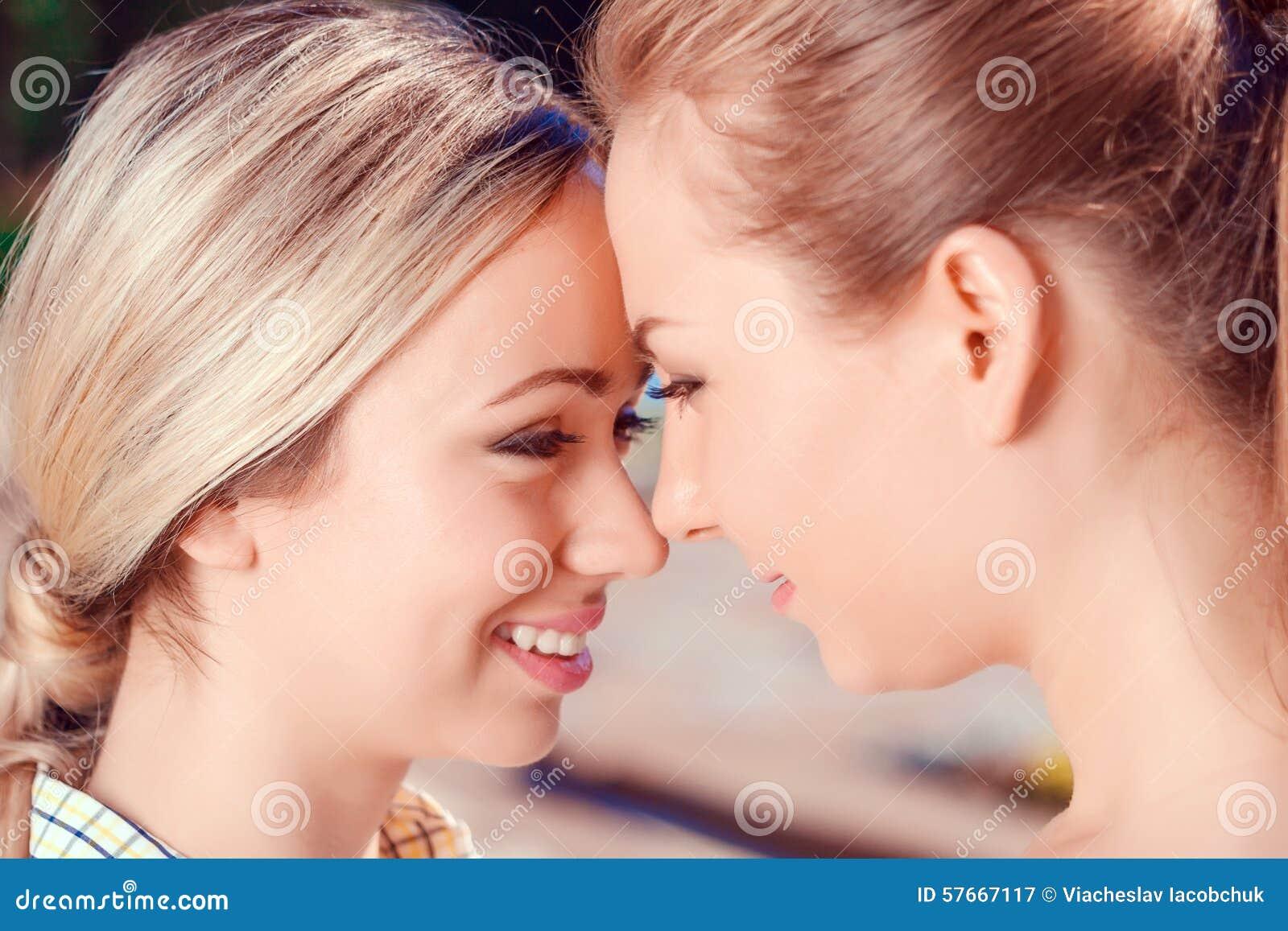 Lesbian free first lick