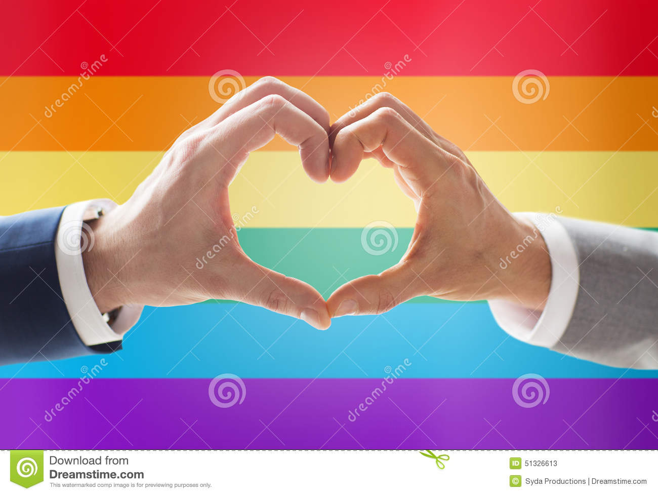 gay love sign
