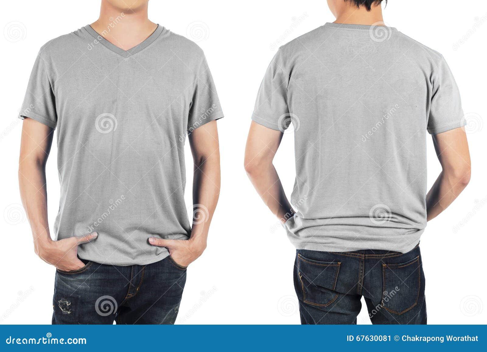 blank t shirt front and back grey wwwimgkidcom the