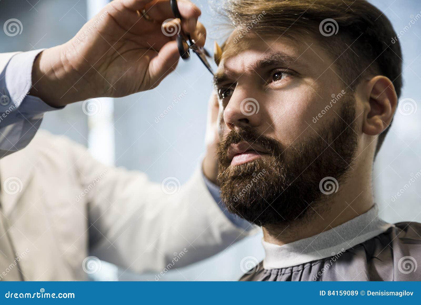Business man haircut