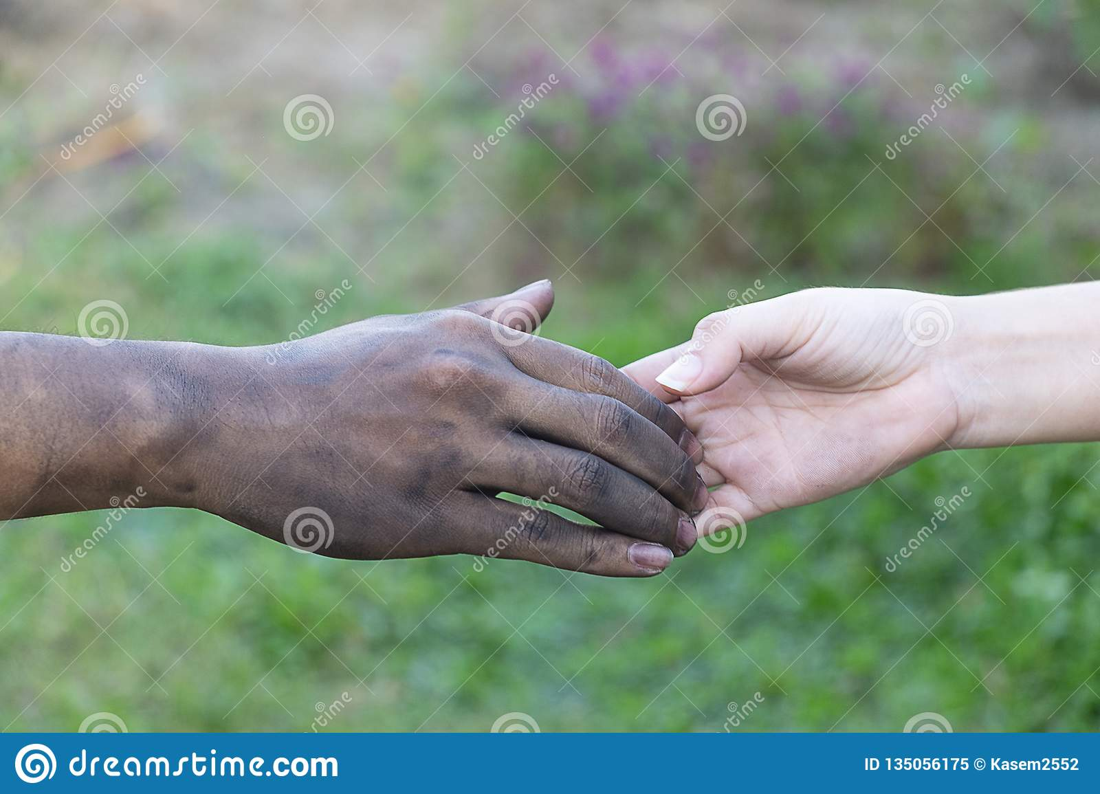 Close up of many children hands touching , holding ... |Touching Hands Together