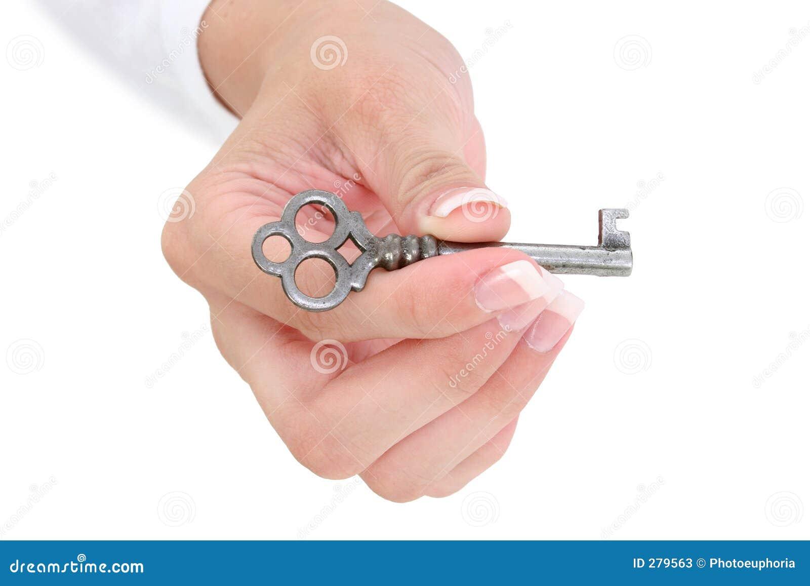 Skeleton Hand Holding ...
