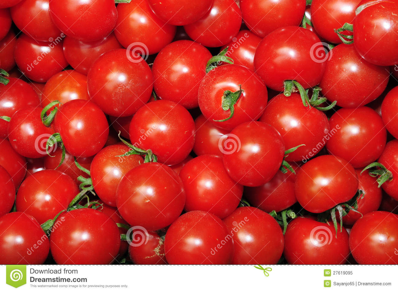 Close Up Of Many Fresh Red Tomatoes Royalty Free Stock ...