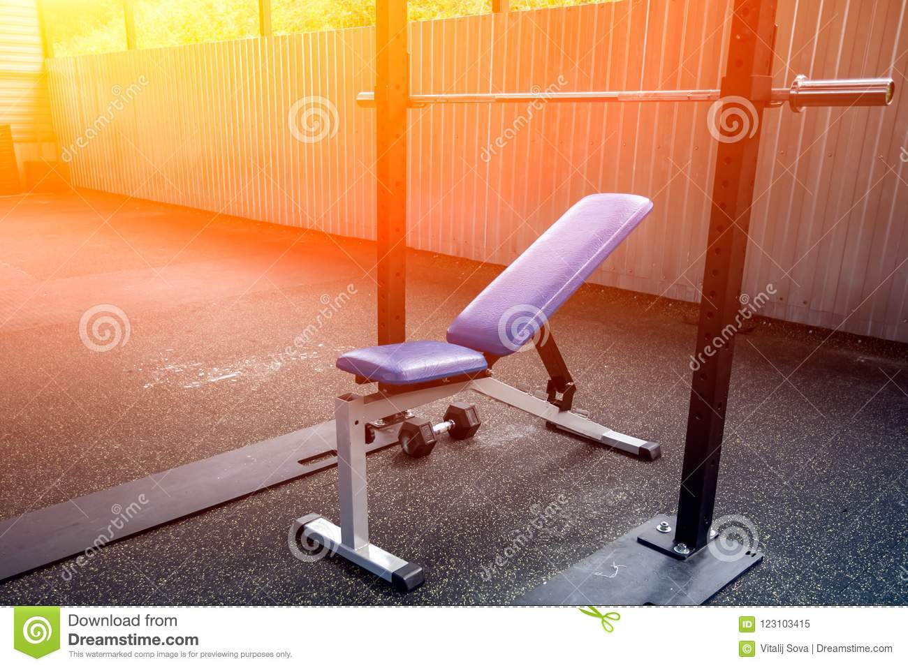 Fantastic A Close Up Of A Metal Simulator In Gym Stock Image Image Gmtry Best Dining Table And Chair Ideas Images Gmtryco