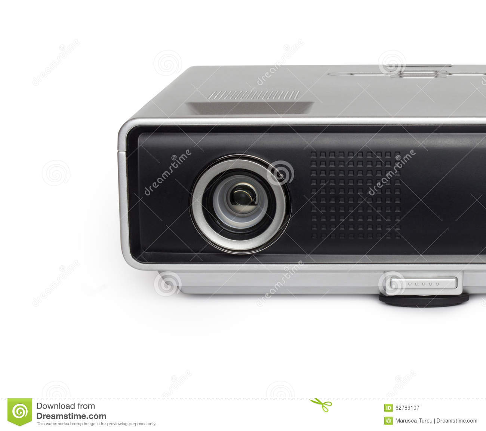 Close up of multimedia projector