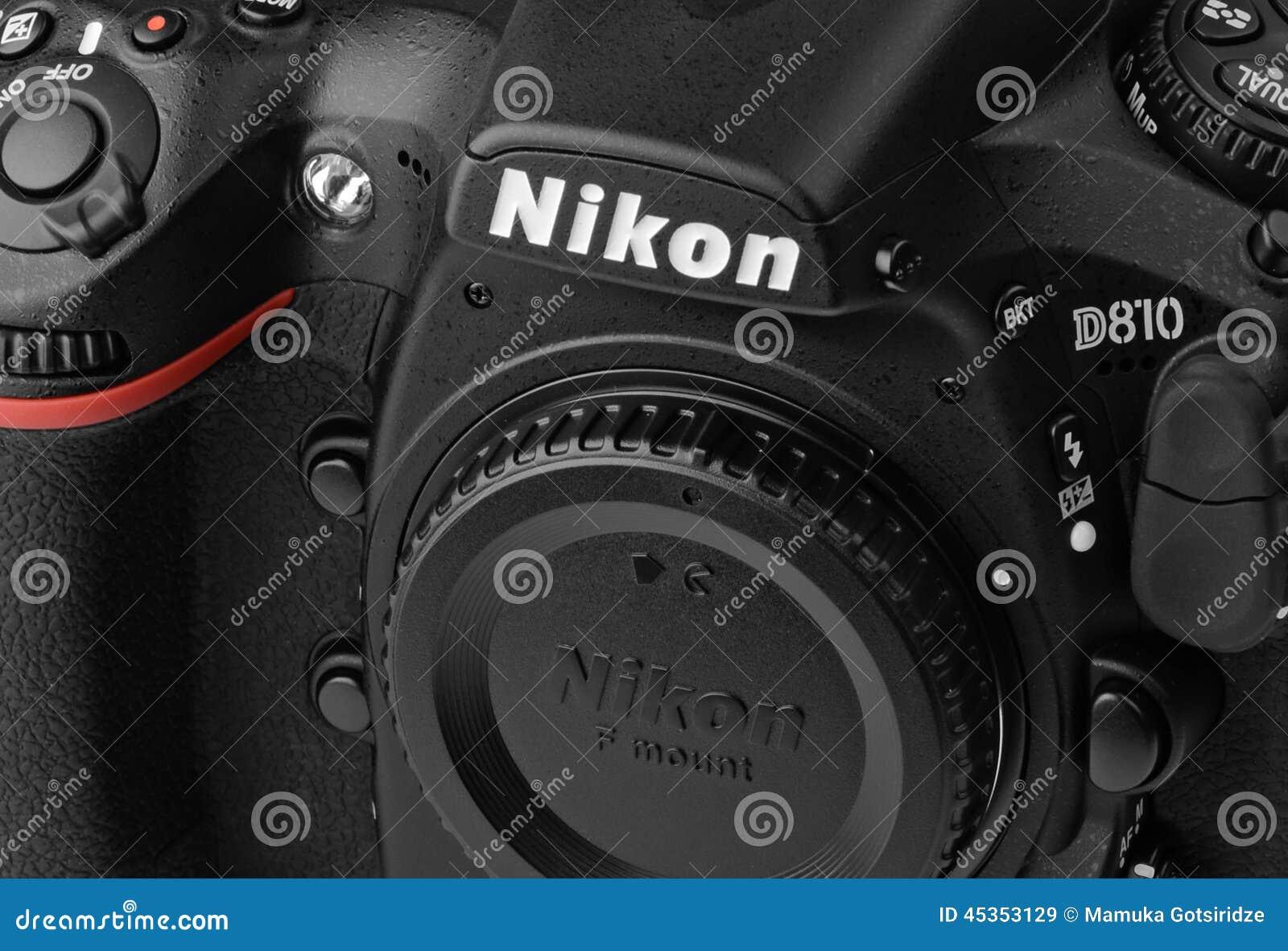 Close-up Nikon D810