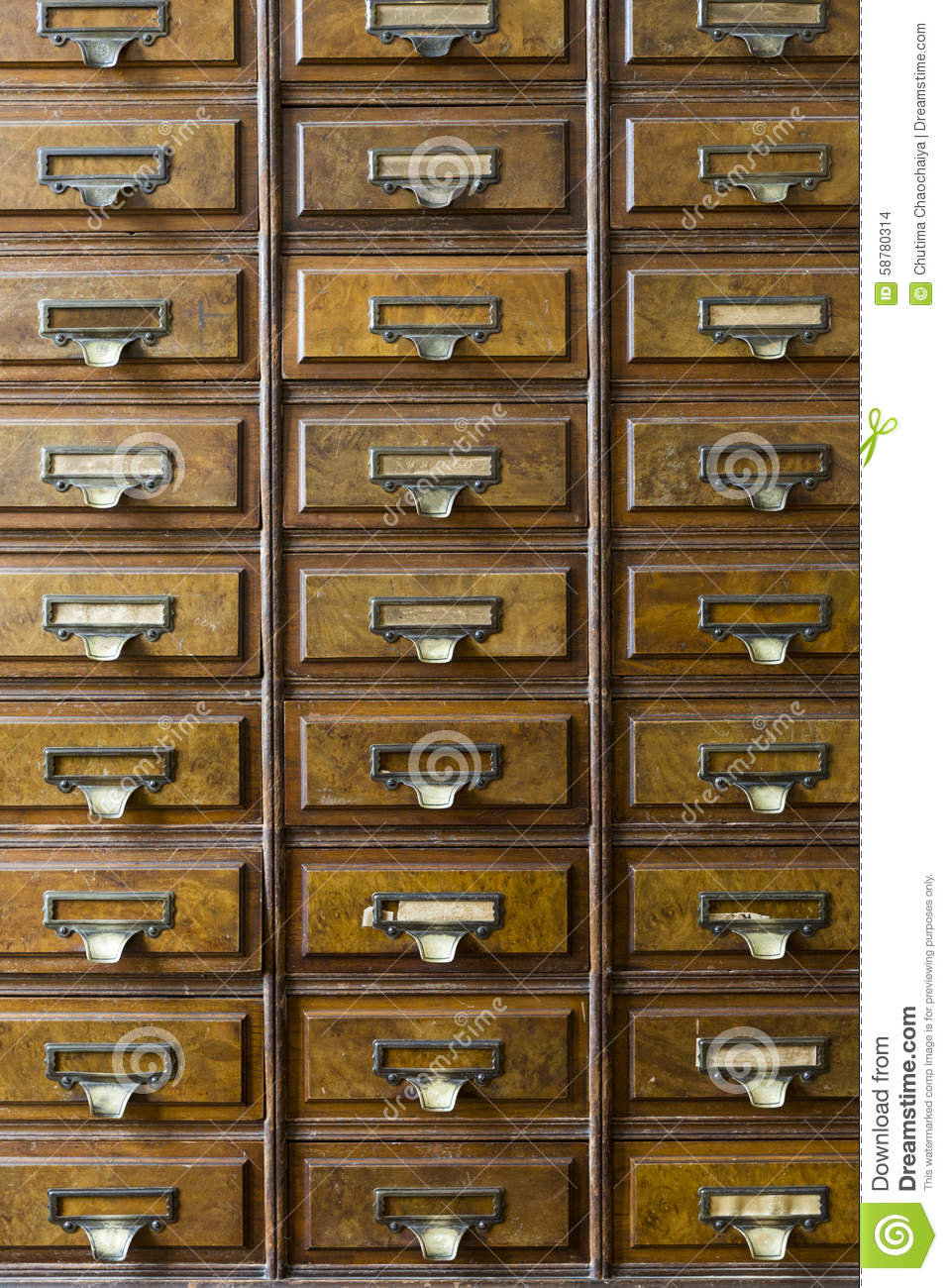 Apothecary Cabinet close-up of an old apothecary cabinet stock photo - image: 58780314