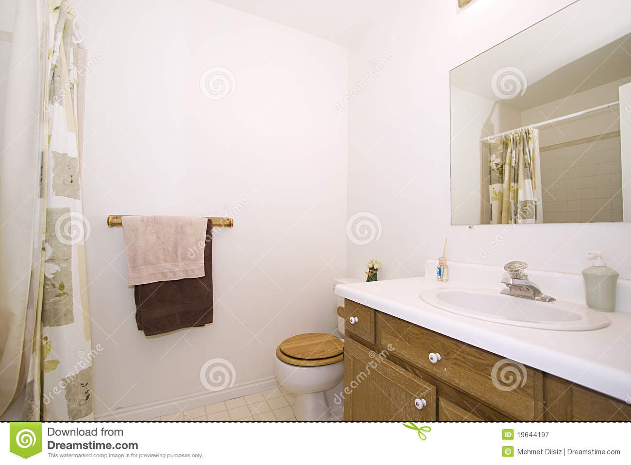Close Up Picture Of A Bathroom Interior Royalty Free Stock Photo 19644201
