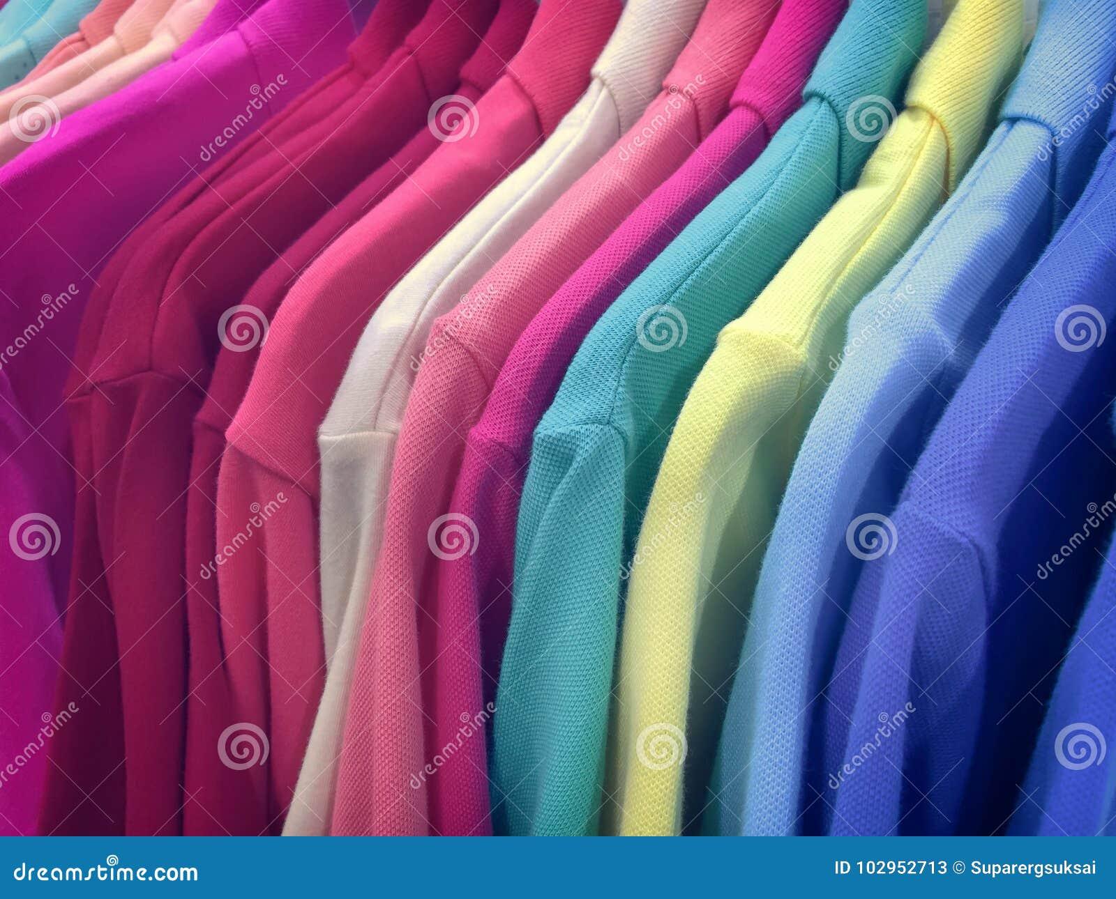 Close up Polo Shirts vívido