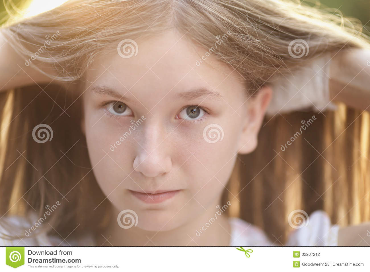Have appeared Cute teen girl portrait improbable