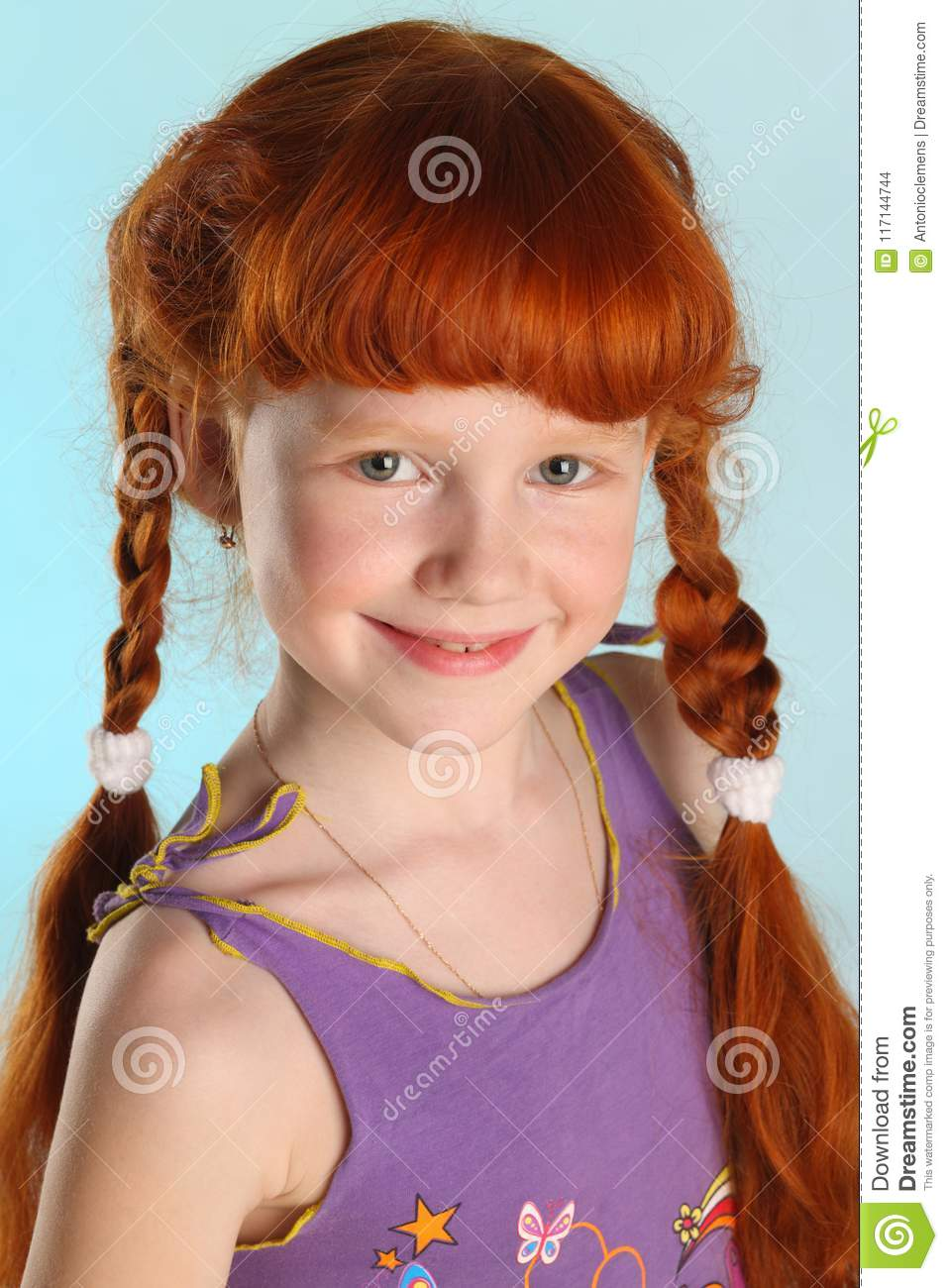 Rather redhead pigtails young teen girl opinion here