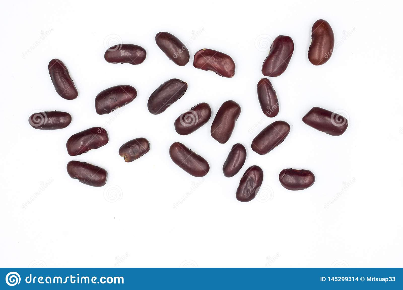 Close up Red beans background, Red beans seeds