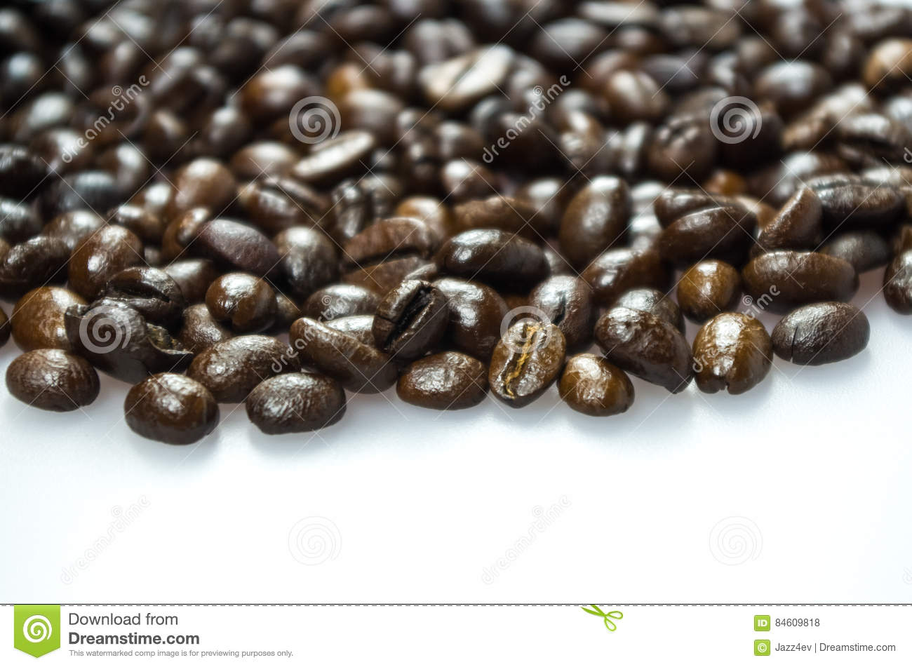 Alcoholic Drink With Coffee Beans