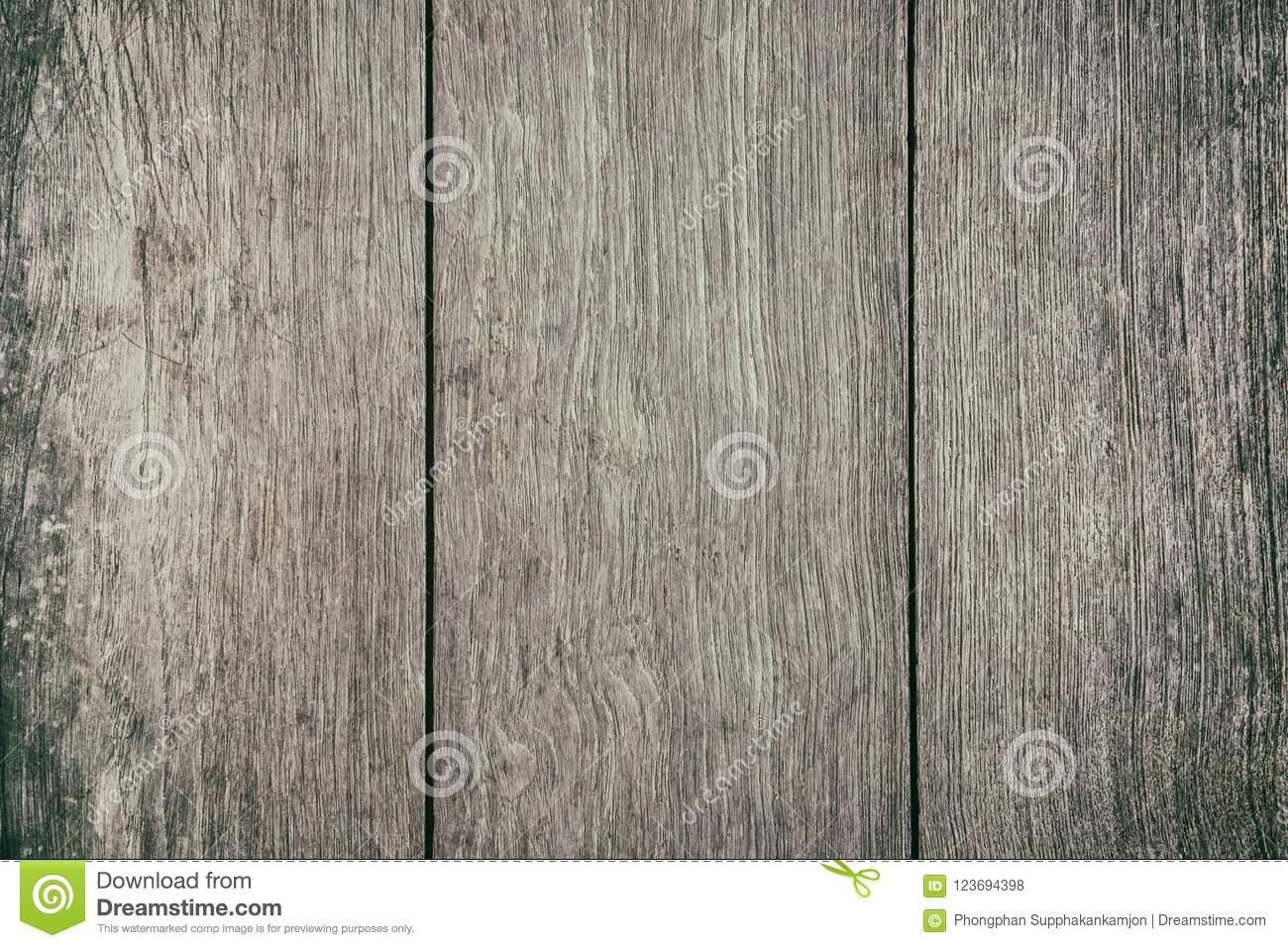 Close Up Rustic Wood Table With Grain Texture In Vintage Style
