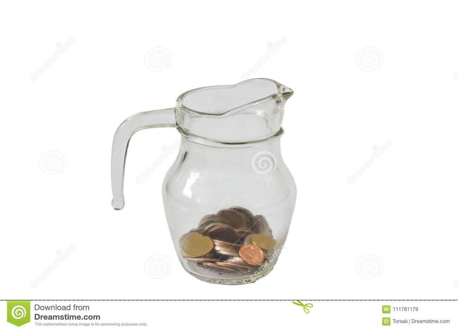 Close up save money