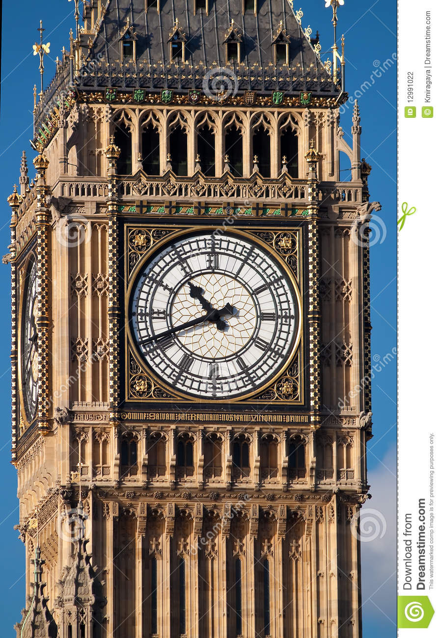 close up shot of the big ben in london stock photography. Black Bedroom Furniture Sets. Home Design Ideas