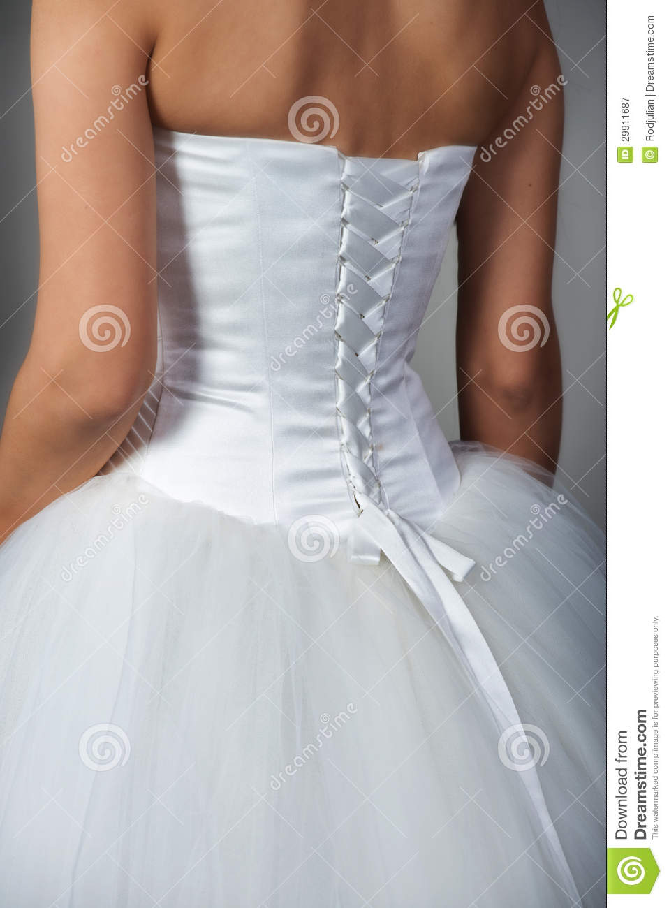 Fragment Of A Wedding Dress Stock Image - Image of engagement ...