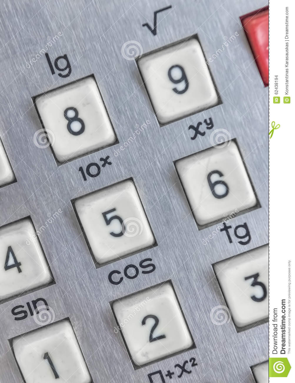 Download Close Up Shot Of Calculator Stock Photo - Image of background, black: 62438194