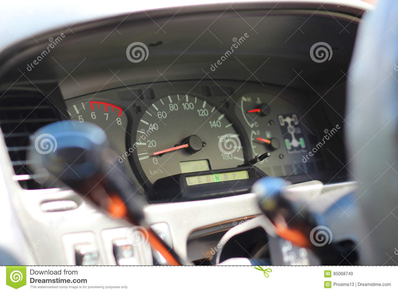 Close Up Shot Of The Dashboard A Car Stock Photo Image - Car image sign of dashboardcar dashboard icons stock photospictures royalty free car