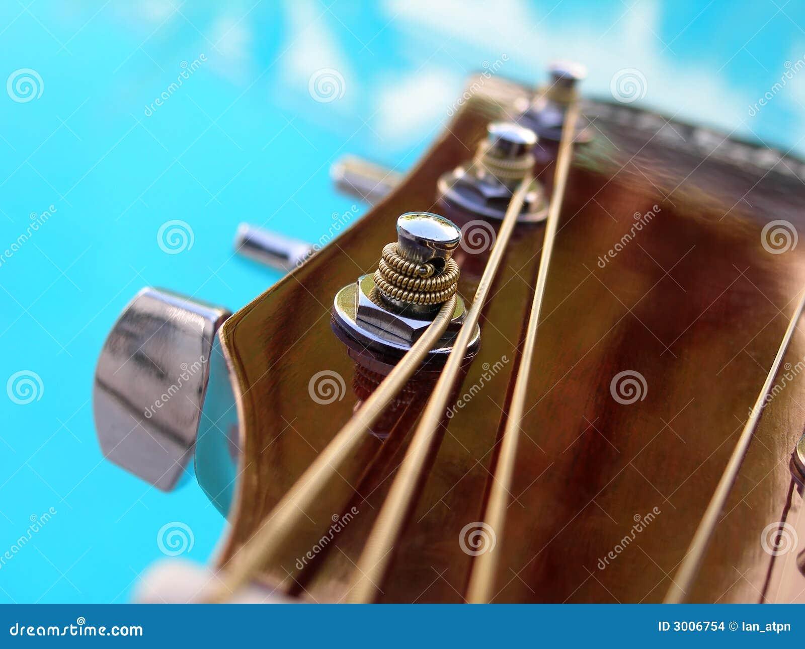close up shot of guitar string stock photo image of wood instrument 3006754. Black Bedroom Furniture Sets. Home Design Ideas