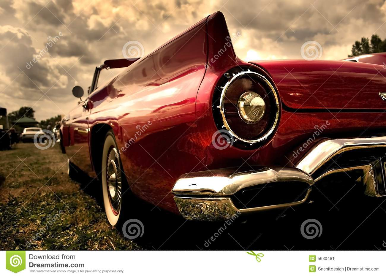 Close Up Shot Of A Vintage Car Stock Image - Image of automobile ...