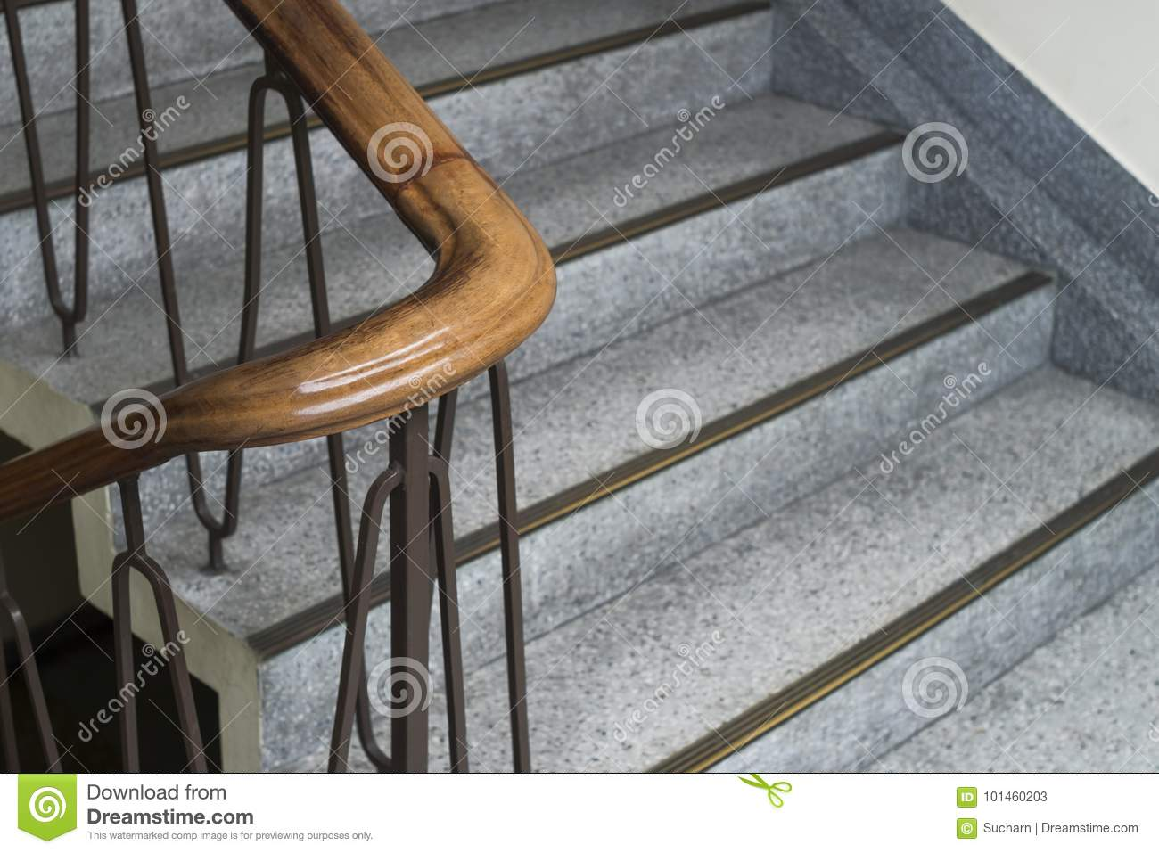 Download Close Up Shot Of Vintage Staircase In Minimal Style. Stock Image    Image Of
