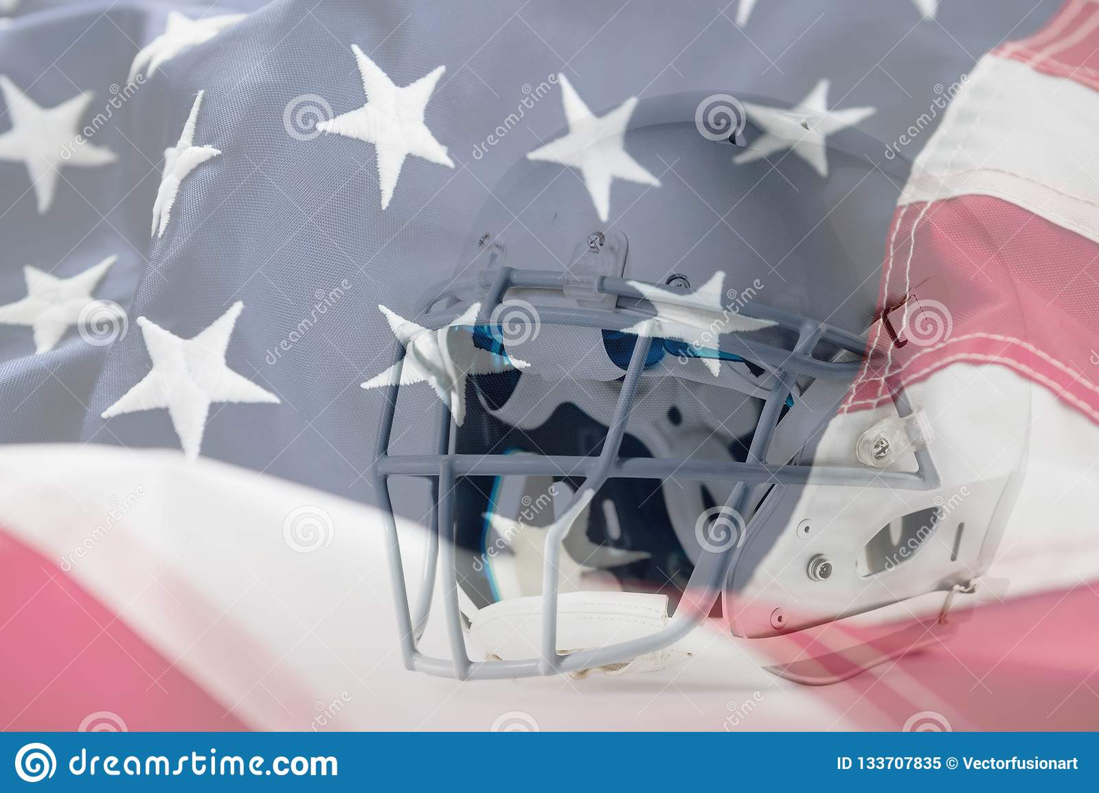 Composite image of close up of silver sports helmet