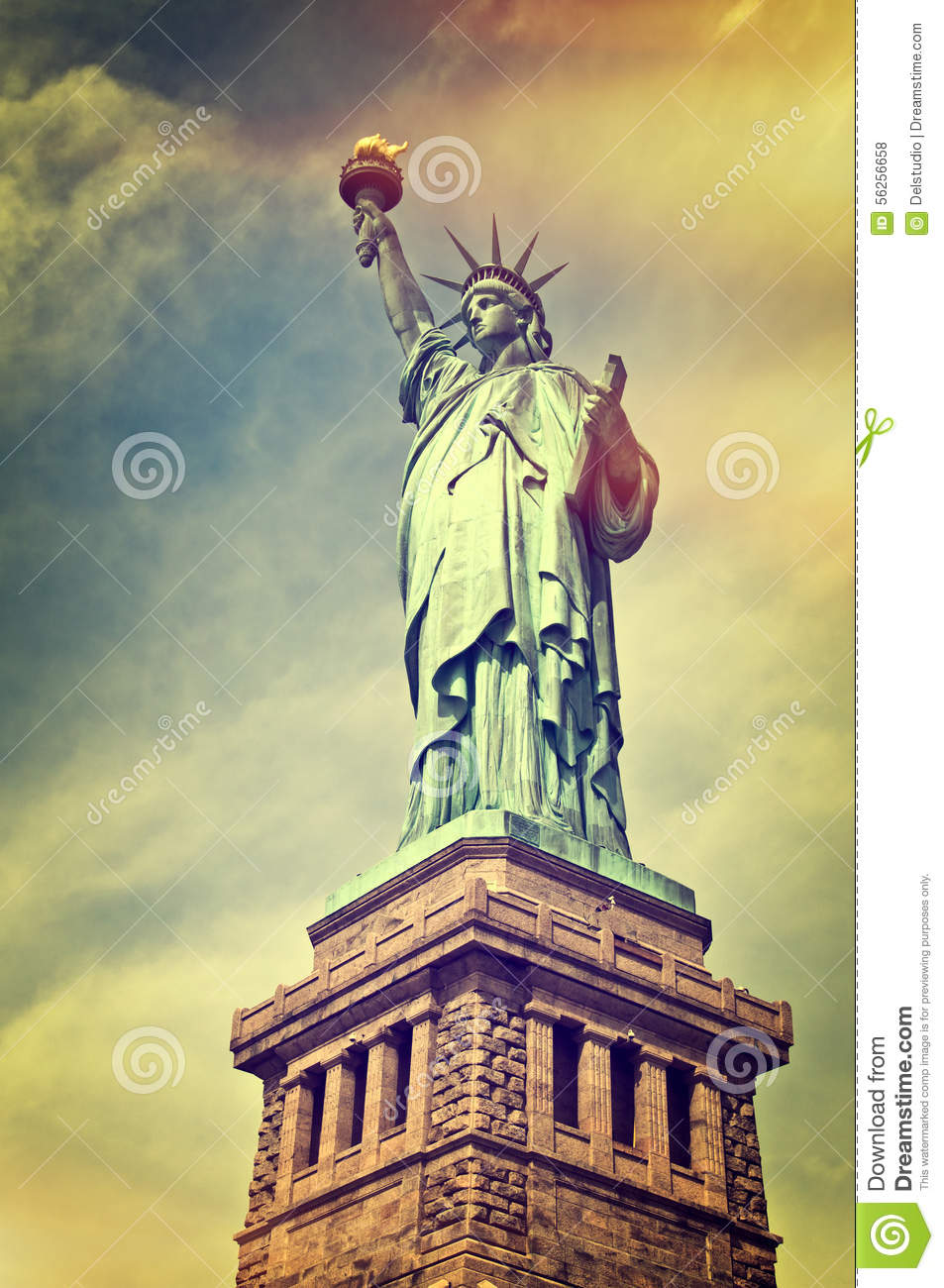 up us symbol liberty pedestal of photo stock tickets independence statue on close