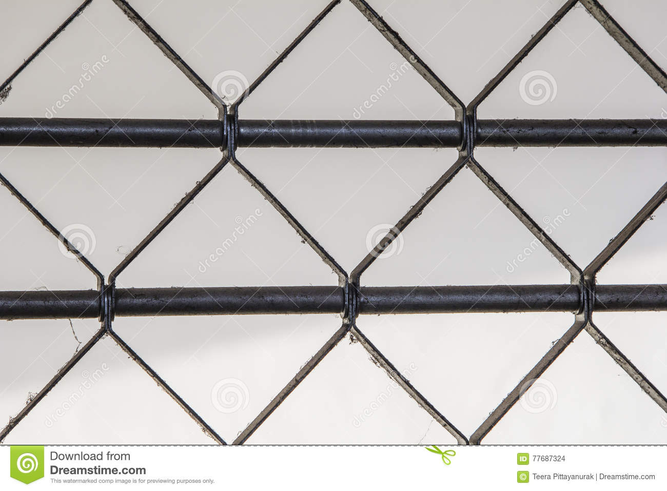 Close Up Steel Frame Of The Office Door. Stock Photo - Image of ...
