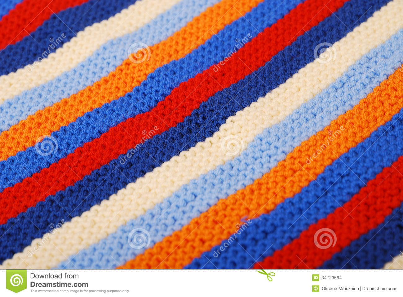 close up of striped diagonal knitted cloth stock photo image 34723564. Black Bedroom Furniture Sets. Home Design Ideas